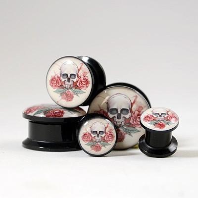 Plug Skull & Roses